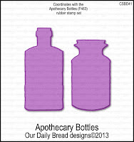 ODBD Custom Apothecary Botles Dies