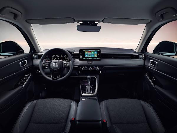 Novo Honda HR-V 2022 chegará ao mercado europeu no final do ano