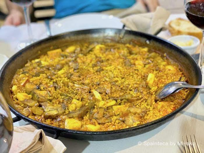 マドリードで食べる本格パエリア