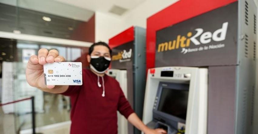 BANCO DE LA NACIÓN: Amplían vigencia hasta el 30 de setiembre las tarjetas de débito vencidas entre marzo y agosto de 2021