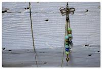 sautoir libellule asymétrique