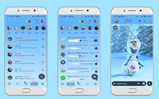Snow Man Theme For YOWhatsApp & Fouad WhatsApp By Leidiane