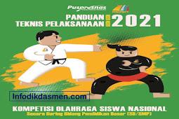 Panduan / Petunjuk Teknis KOSN SD dan SMP Tahun 2021