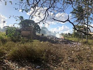 Filho morre após fábrica de fogos do pai explodir em Solânea; vereador e ajudante feridos
