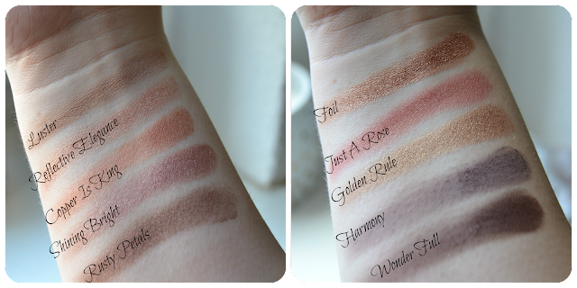 Zoeva, Palette, Rose Golden, Swatches, Swatch, review, Erfahrung, Erfahrungsbericht