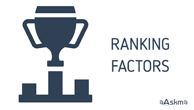 Website ranking factors you need to know: eAskme