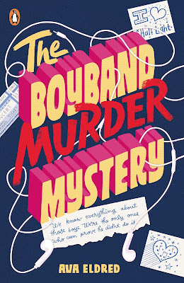 The Boyband Murder Mystery by Ava Eldred book cover