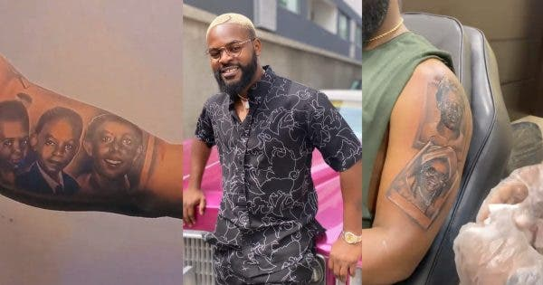Watch the Video of how Flaz Tattooed all his Family on his Arm (Video)