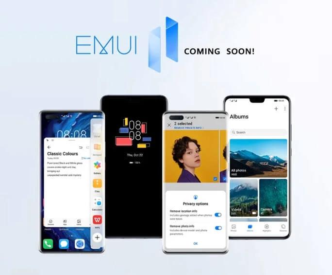 Huawei EMUI 11 Software Update Schedule in the Philippines