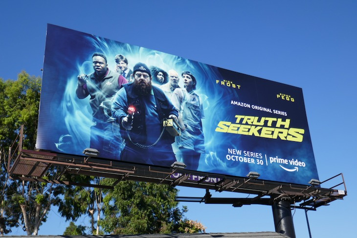 Truth Seekers series premiere billboard