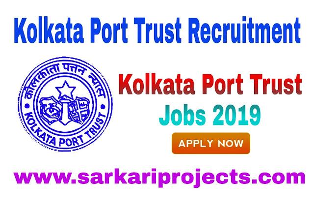 Kolkata Port Trust Jobs 2019: Treasurer Vacancy for B.com, Salary Upto 46,500 Published