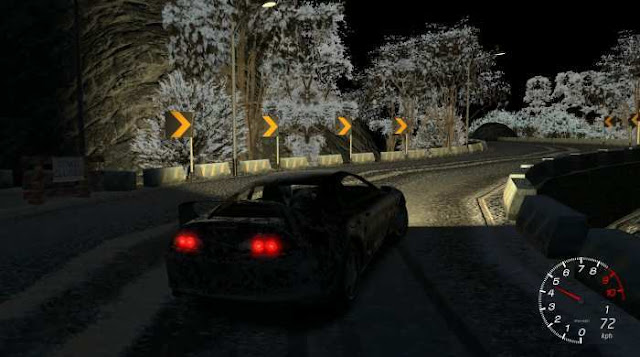 Drift Of The Hill a game in the style of a simulator that will make you a participant in insane racing resistance.