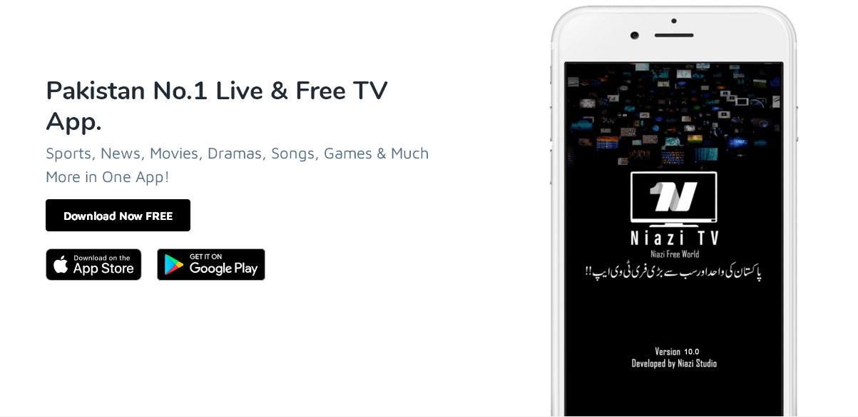 Niazi TV App 10.0 Version.