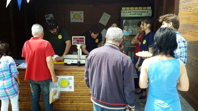 Τα γαλακτοκομικά Μαυρόγιαννη από την Καρυά Αργολίδας κέρδισαν τους επισκέπτες της έκθεσης γαστρονομίας Love Your Local Market