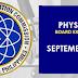 September 2021 Physician Board Exam Result
