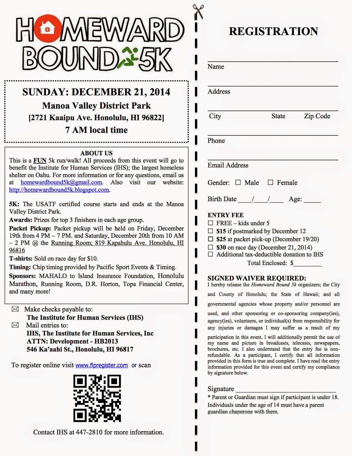 ... 00 on december 18th print out registration form click to download form