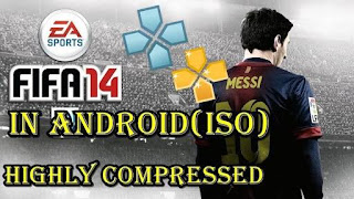 FIFA 14 ISO PSP PPSSPP Highly Compressed