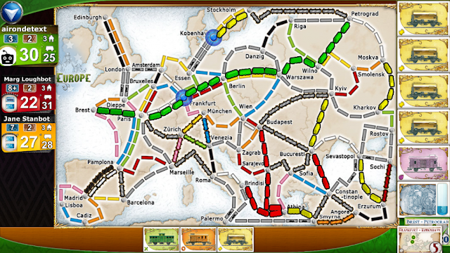 Games of Ticket Ride