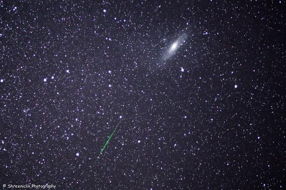 fotos da chuva de meteoros perseidas 4