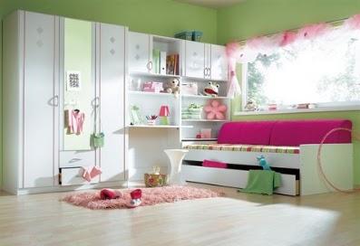 A mi manera ideas para pintar y decorar dormitorios de chicas - Ideas pintar dormitorio ...