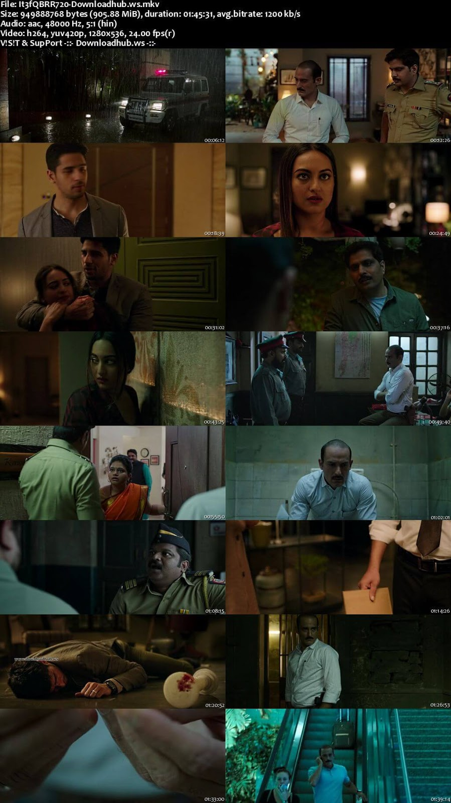Ittefaq 2017 Hindi 720p BluRay ESubs
