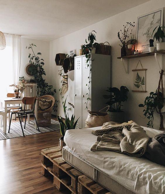 33 idees pour mettre un lit dans son salon