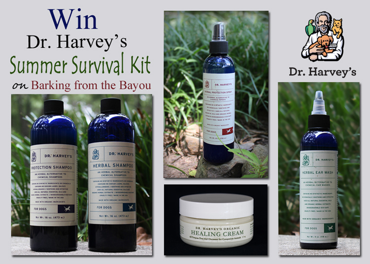 Various Dr. Harvey's Grooming Essentials