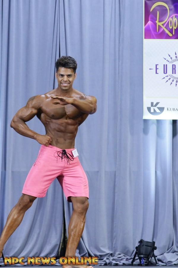 Matheus Nery se apresentou com 82 kg na competição. Foto: NPC News Online