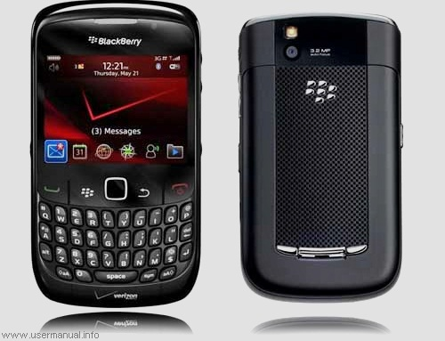 blackberry e88+ user manual