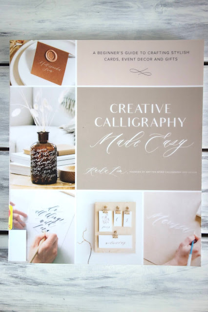 calligraphy, hand lettering, blah to TADA, calligraphy book, Karla Lim, crafts using calligraphy