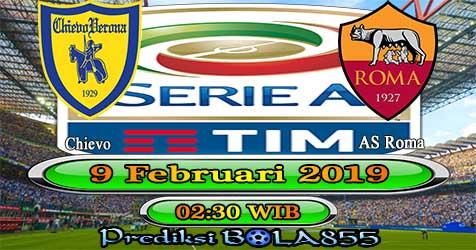 Prediksi Bola855 Chievo vs AS Roma 9 Februari 2019