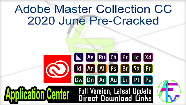 Adobe Master Collection CC 2020 June Pre-Cracked