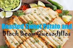 #Yummy #Roasted #Sweet #Potato #and #Black #Bean #Quesadillas