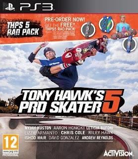 TONY HAWK'S PRO SKATER 5 PS3 TORRENT