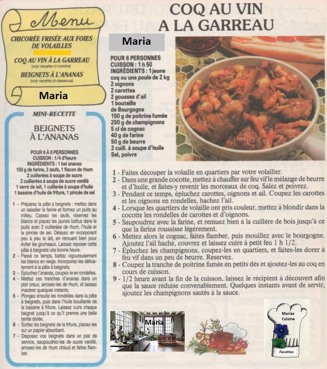 Marias Küche