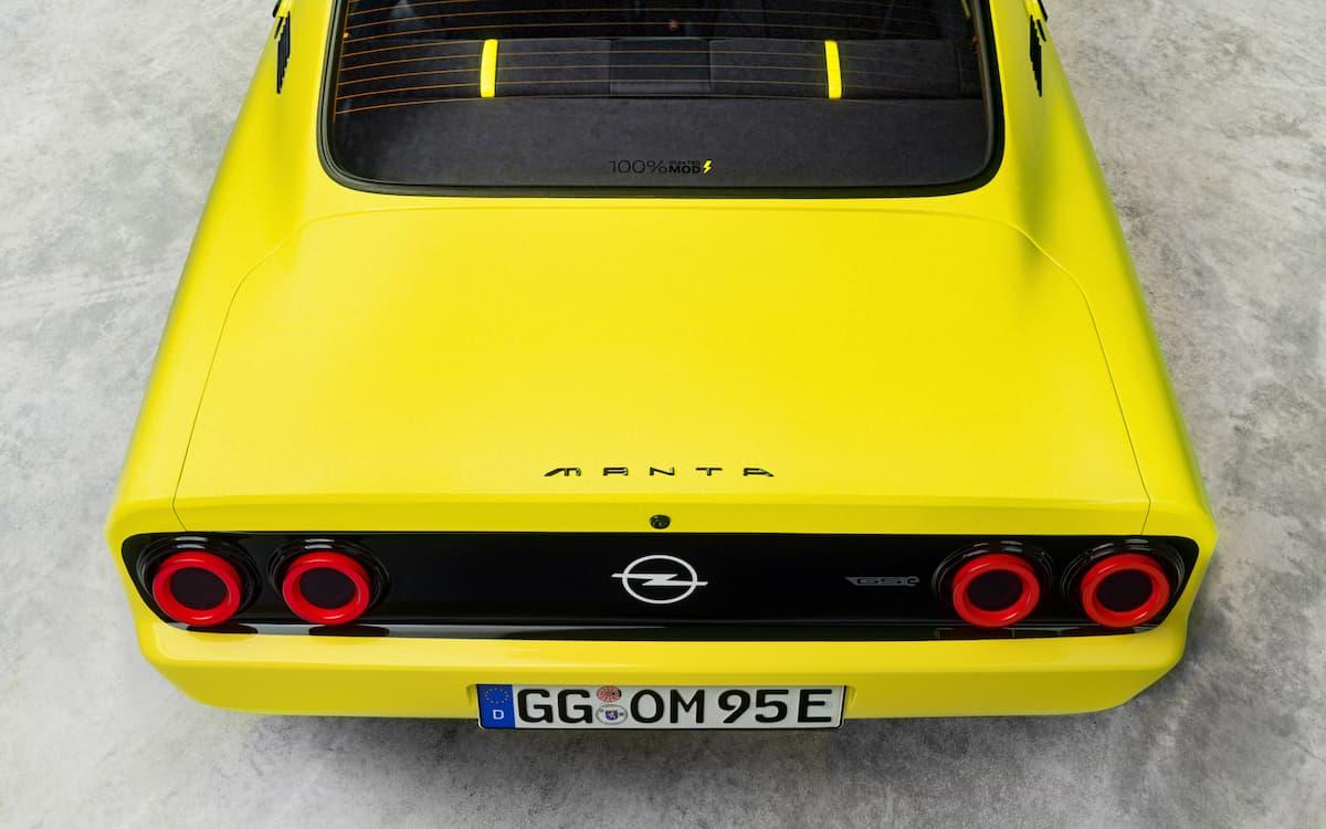 Der Opel Manta GSe bringt Retroflair in die Elektromobilität | Erster ElektroMod von Opel