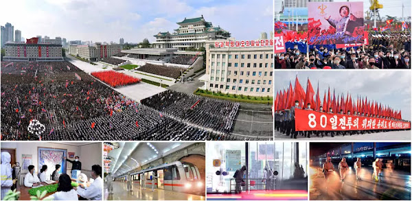 (1) KCNA Report on Successful Conclusion of 80-day Campaign