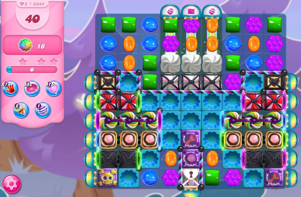 Candy Crush Saga level 8345