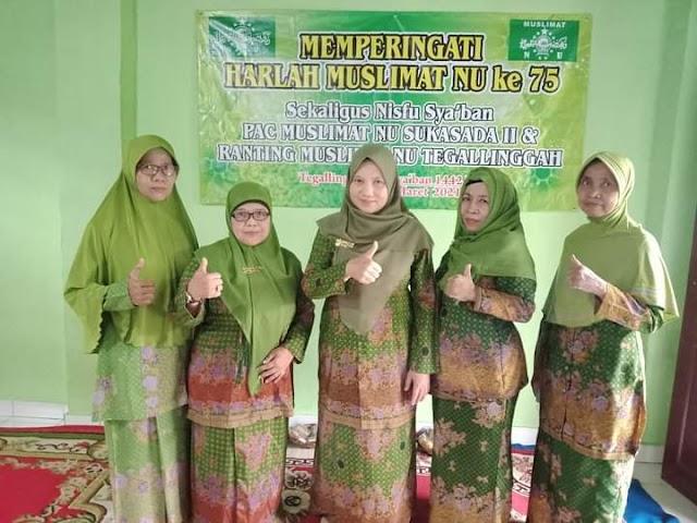 Doa Para Muasis Terus Mengalir Kepada Keluarga, Jangan Takut Sengsara Berkhidmat Di Muslimat NU Neeng Hj. Rodhiyah