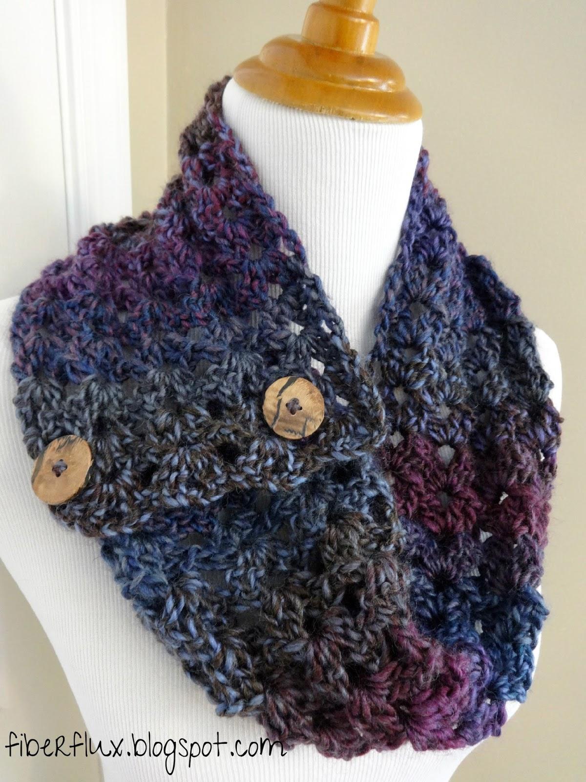 Fiber Flux: Chunky Cowls! 25 Free Crochet Patterns...