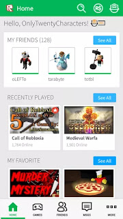 roblox mobile fps games