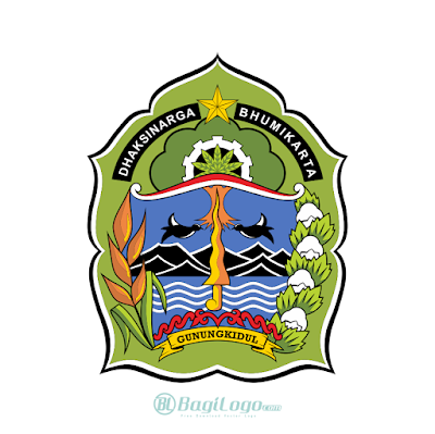 Kabupaten Gunungkidul Logo Vector