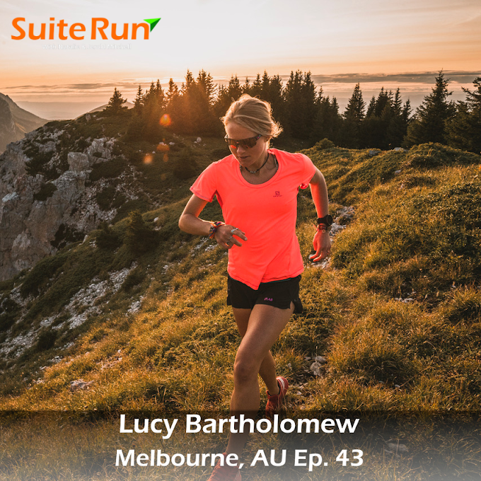 43 | Melbourne, AU with Lucy Bartholomew: Trail Running Down Under