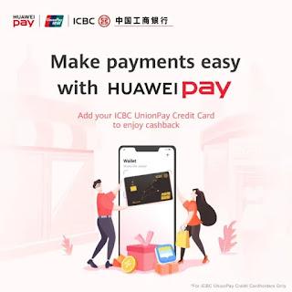 Huawei Pay meluncurkan di Singapura, P40 Series Sale mulai 4 April