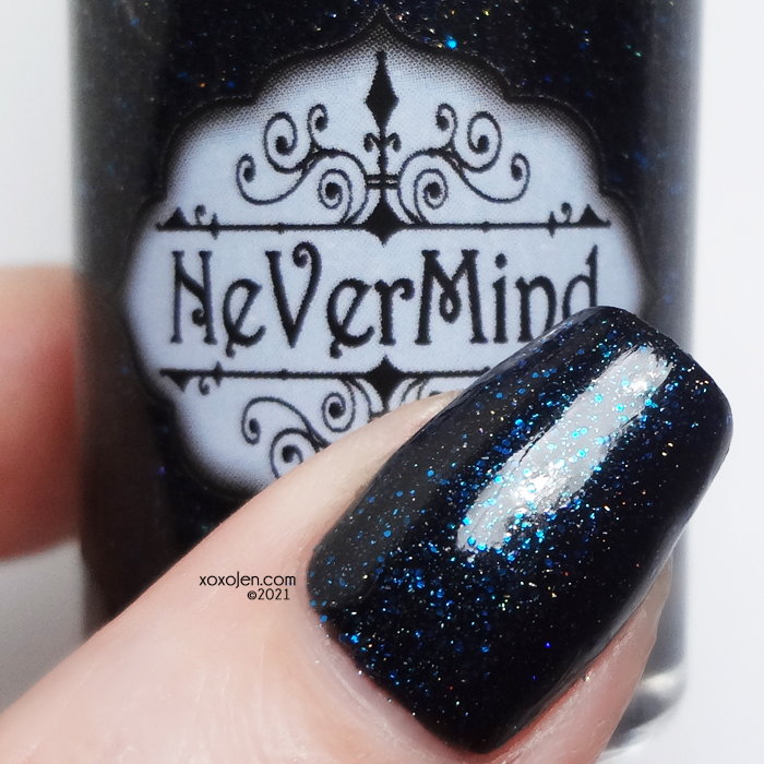 xoxoJen's swatch of Nevermind Look At Me Dance