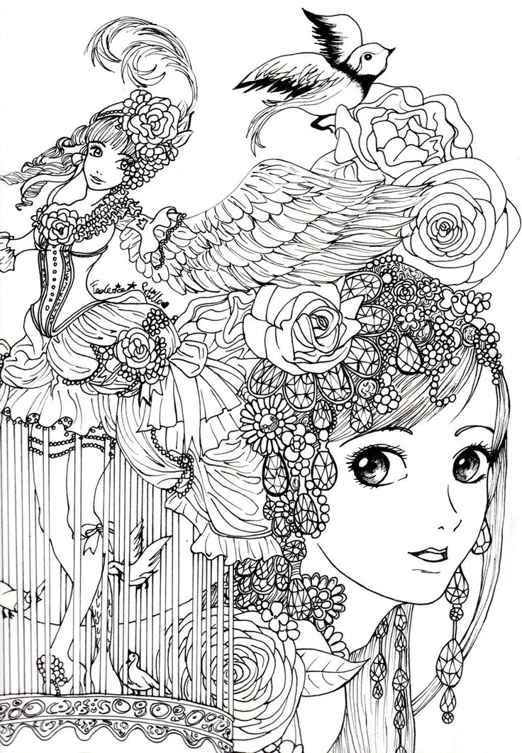 Coloring Pages For Adults Pdf To Print Free Printable