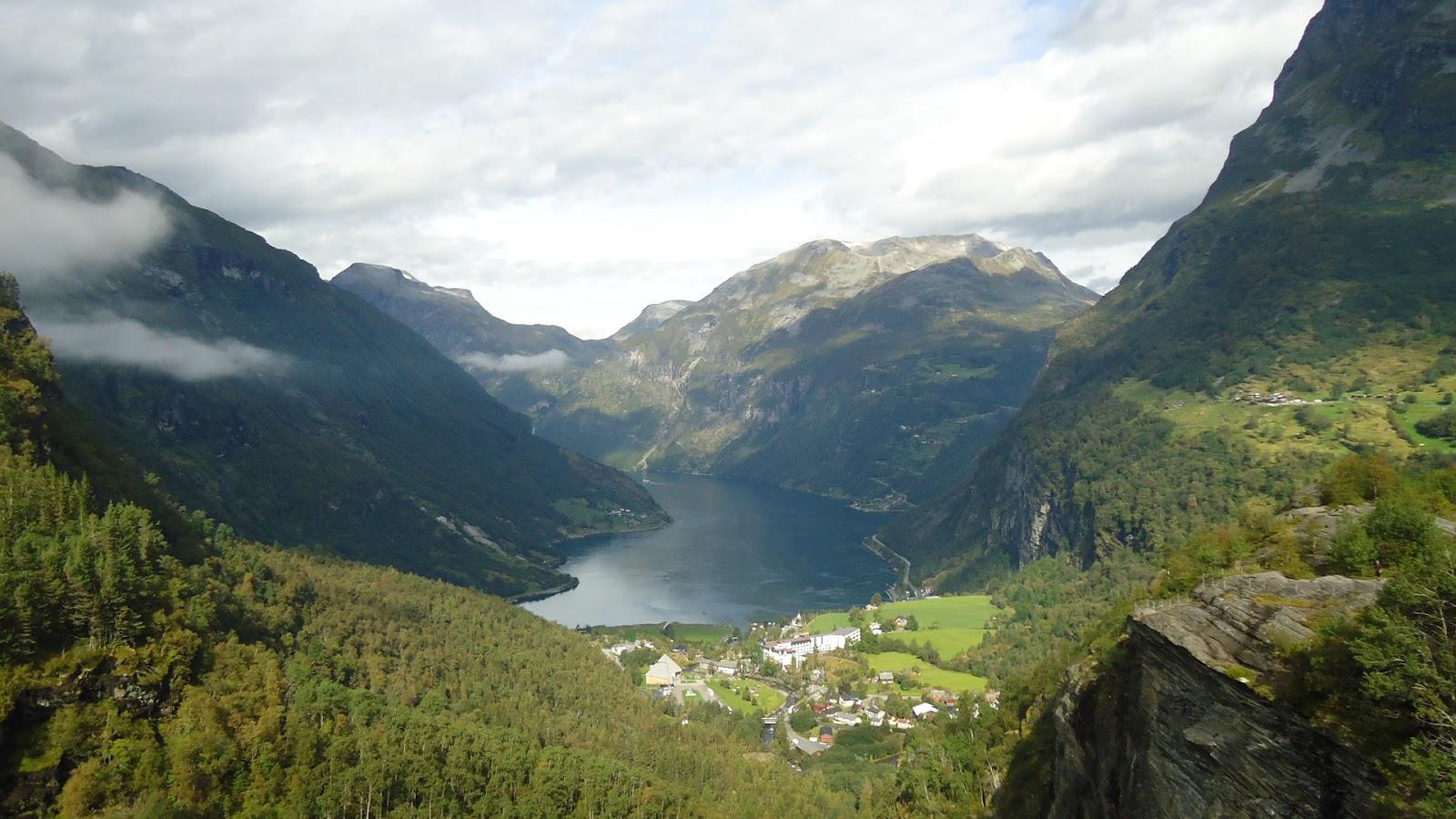 Viaje por los fiordos noruegos