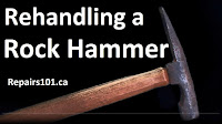 rock hammer close up