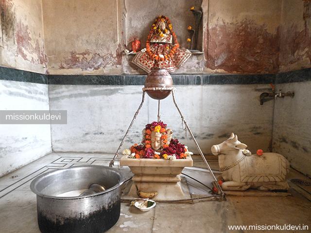 Shivalay atRajrajeshwari Mata Temple Jaipur