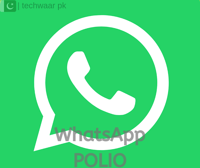 Pakistani First WhatsApp Polio Helpline by Government of Pakistan